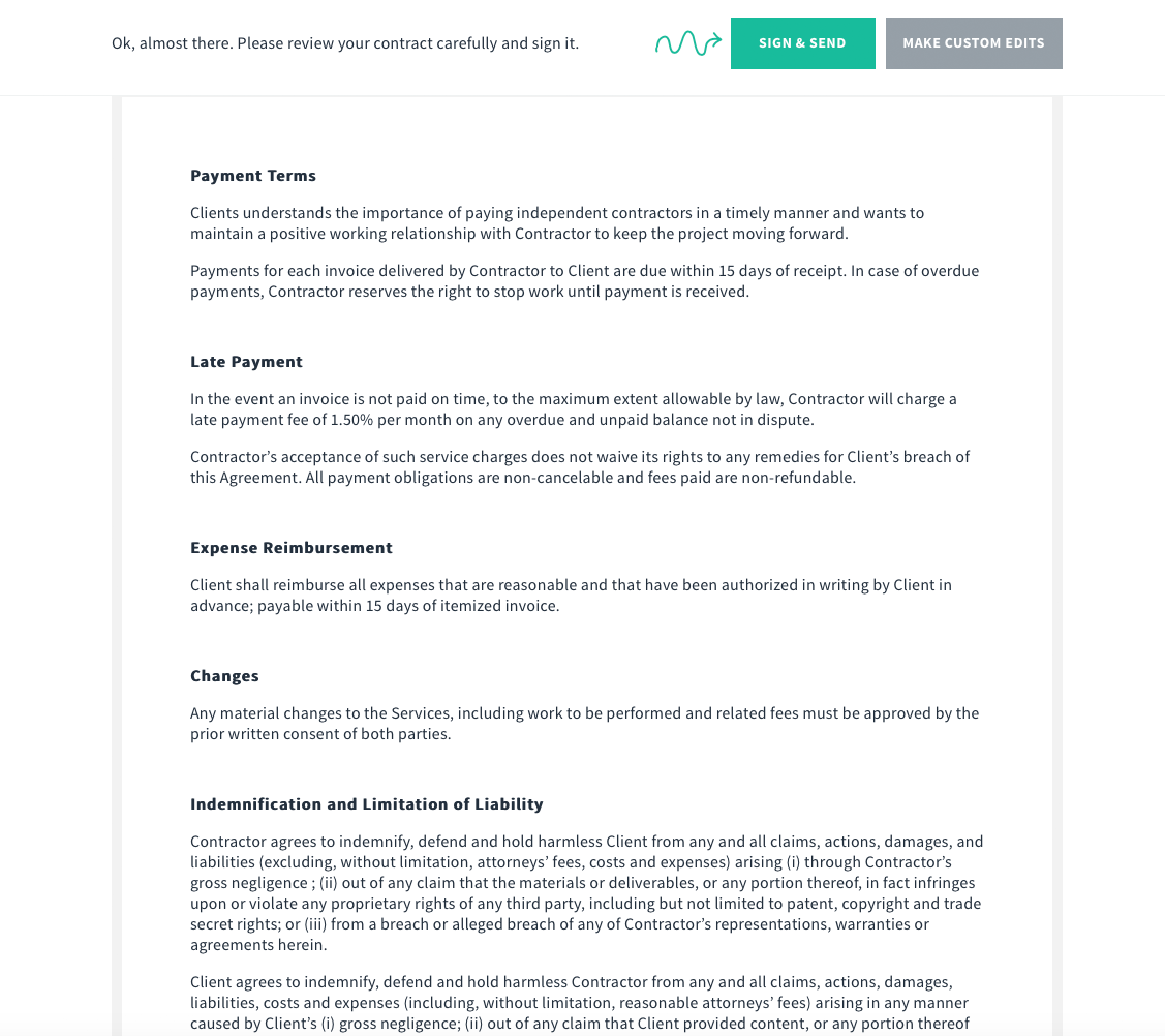 Carsten Sachse Webdesign Blog Freelancer Verträge Online